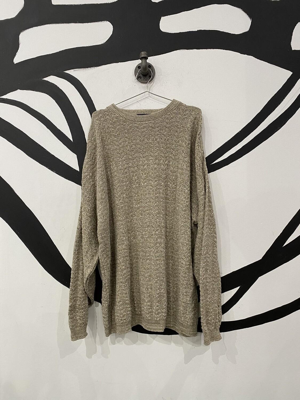 Oatmeal Heather Sweater Size XL