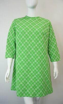 Flutterbye Green printed dress
