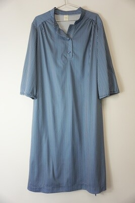 Blue Striped Dress Size 18.5