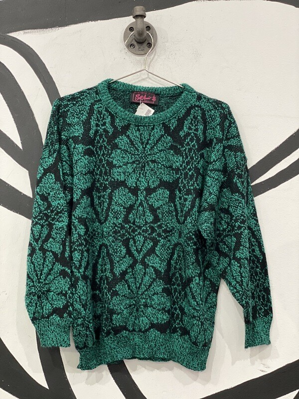 Bel Ami Green Sweater Size Small