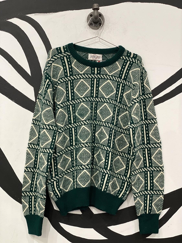 Jantzen Green Sweater Size M