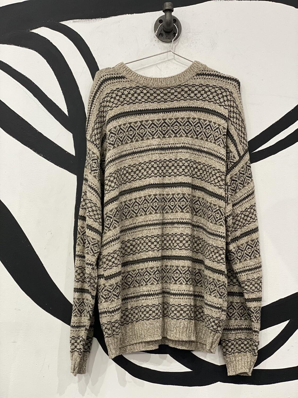 Bill Blass Tan Sweater Size L