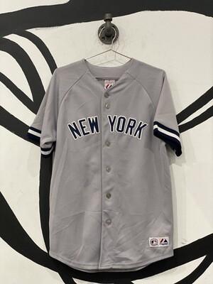 Men's NY Baseball Jersey Size L