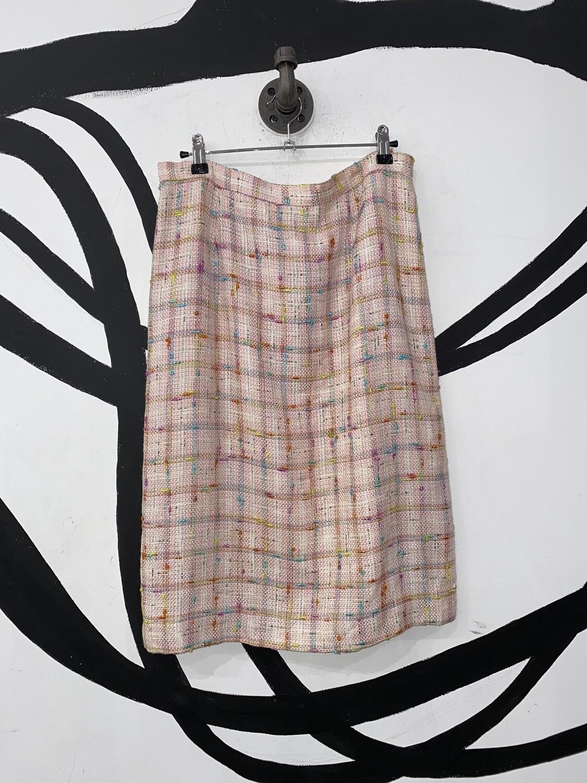 UNITE! Pink Tweed Skirt Size M