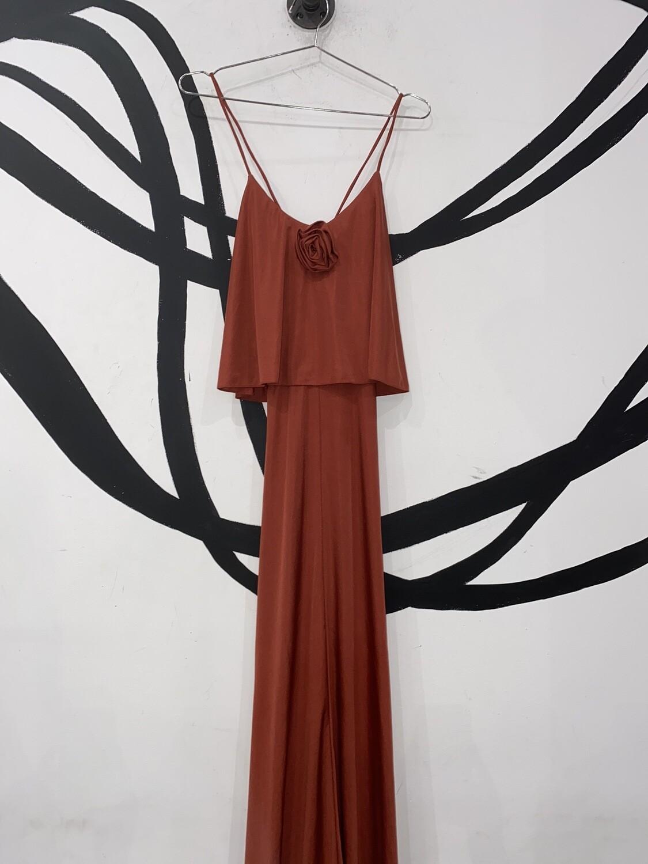 Ryan Keith Floor Length Dress Size L