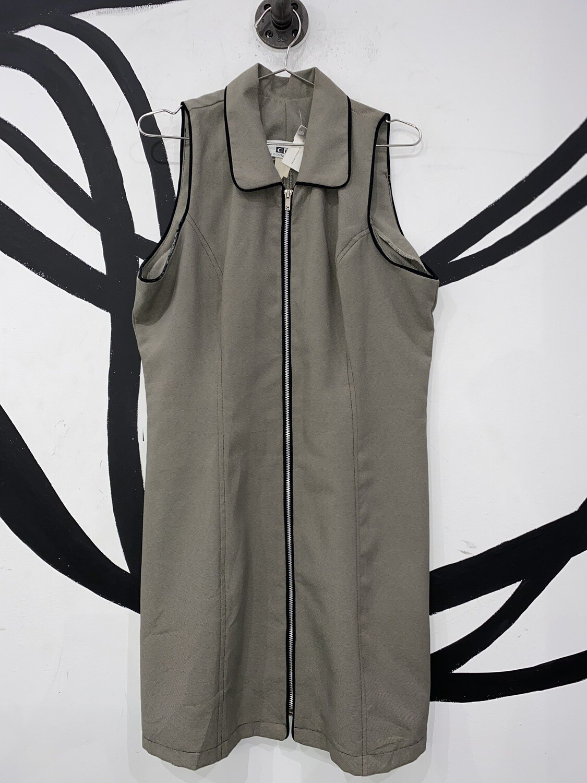 California Grown Mod Zipper Dress Size M