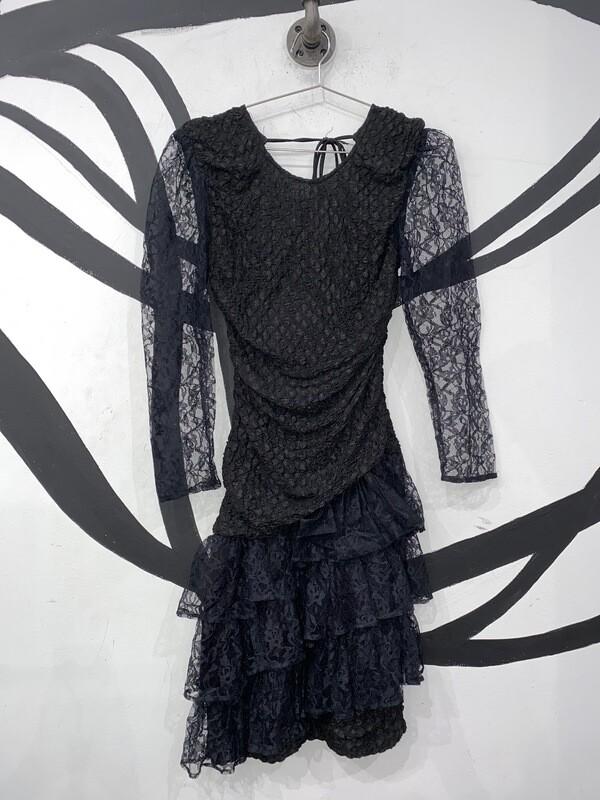 Black Lace Cocktail Dress Size M