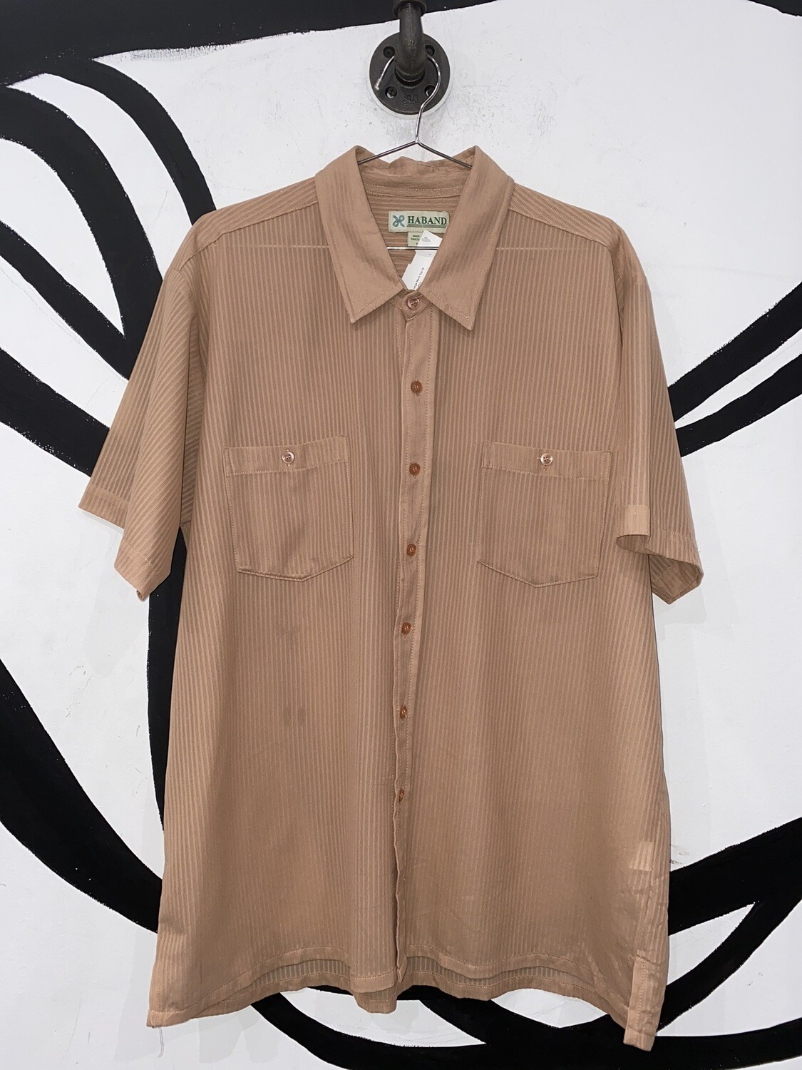 Haband Button Up Size L