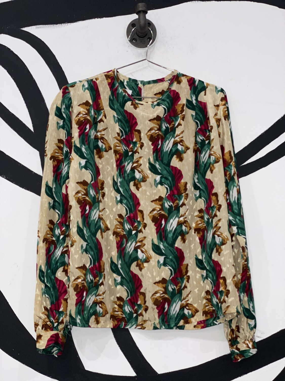 Nicola Floral Blouse Size M