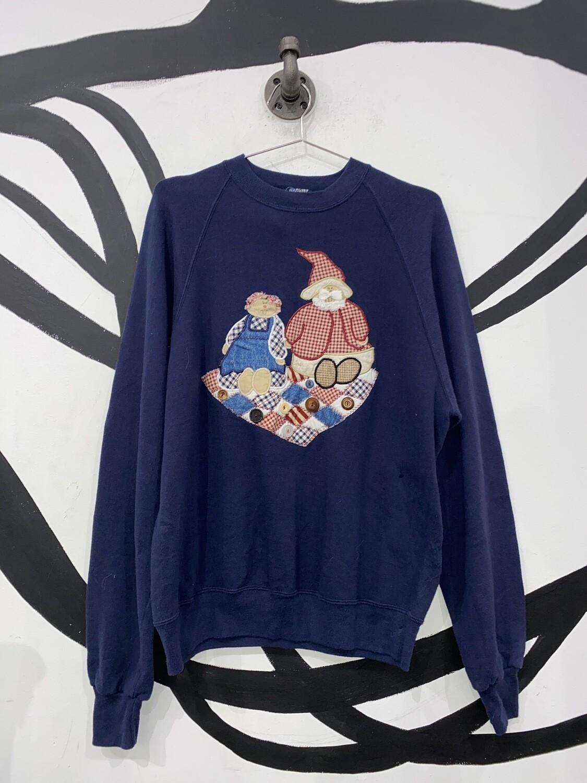 Jerzeez Embroidered Sweater Size L