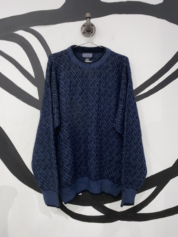Jantzen Classics Diamond Knit Sweater Size L