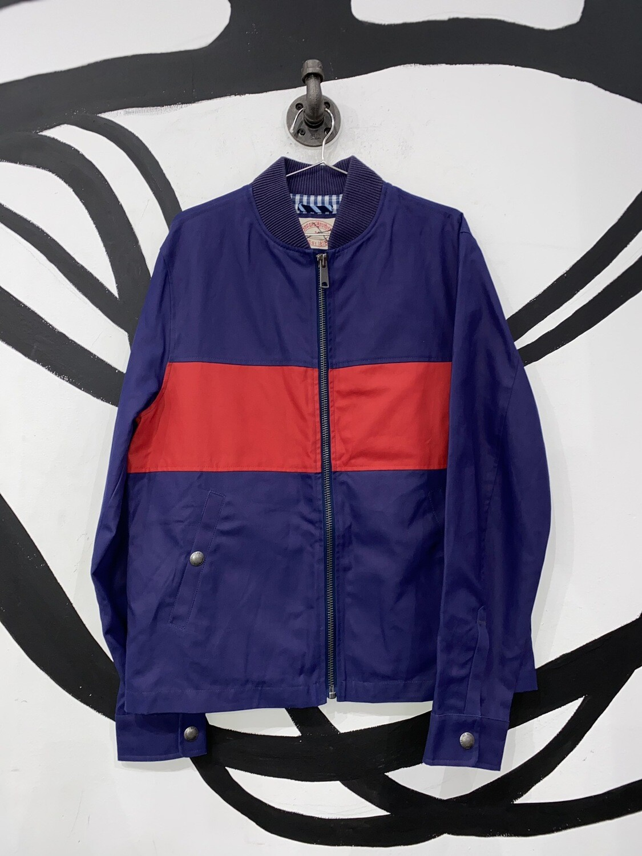 Brooks Brothers Retro Zip Up Jacket Size M