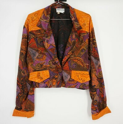 Surya Beaded Blazer Size Medium