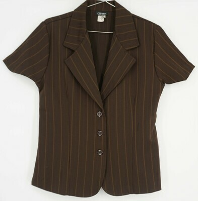 Ci Sono Brown Blazer Size Medium