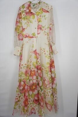 Floral Full Length Dress