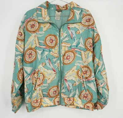 Out Brook Silk Jacket Size Medium