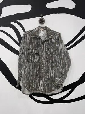 Cabela's Camo Flannel Size M