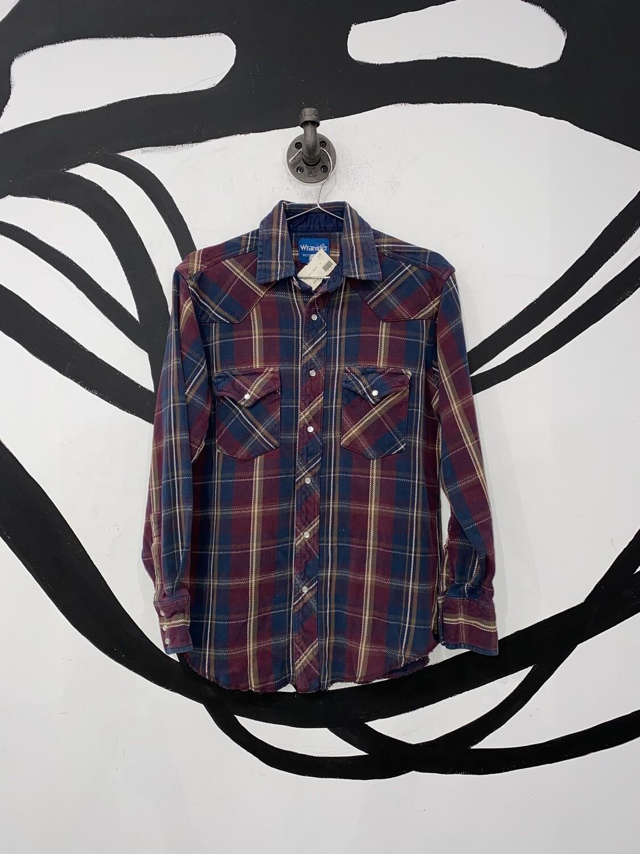 Wrangler Plaid Flannel Size S