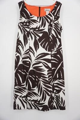 Palm Print Dress