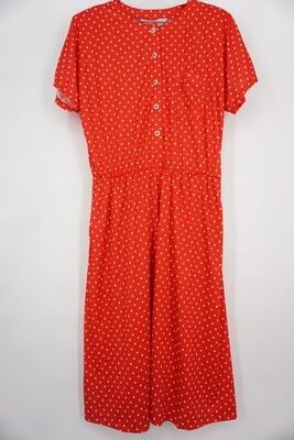 Blair Red Polka Dot Dress Size 18