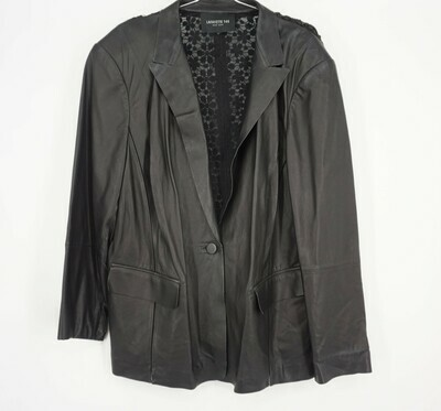 Leather Blazer Size Large