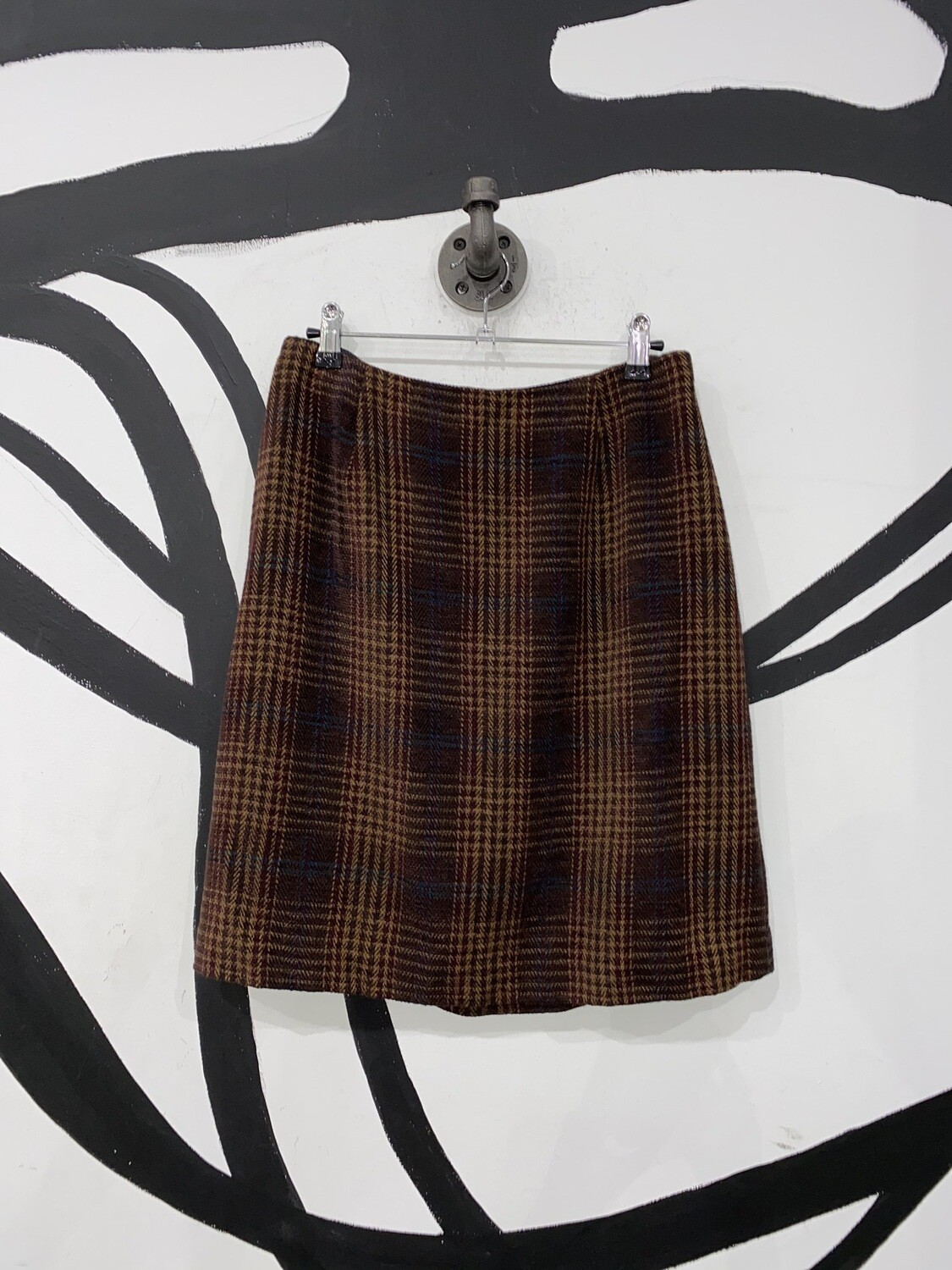 Talbots Plaid Skirt Size M