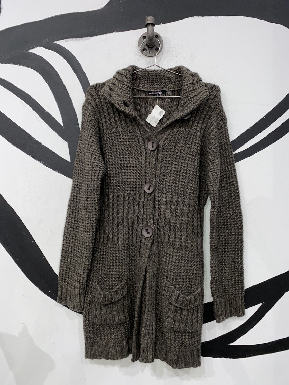 Elisabetta Collection Grey Sweater Size M