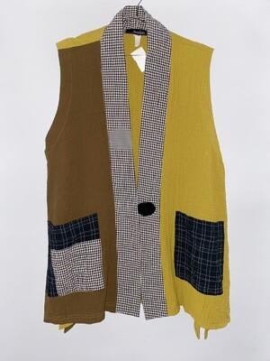 Moonlight Patchwork Vest Size L