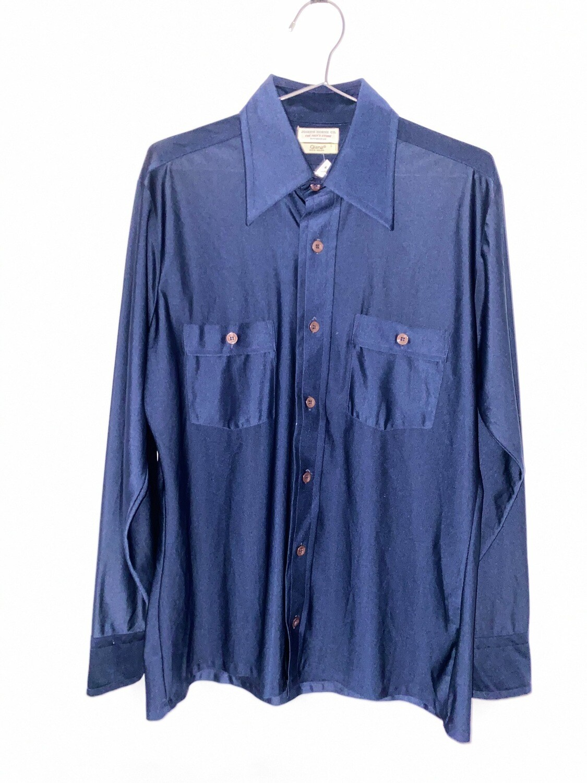 Joseph Horne Co. Navy Blue Button Up Size M