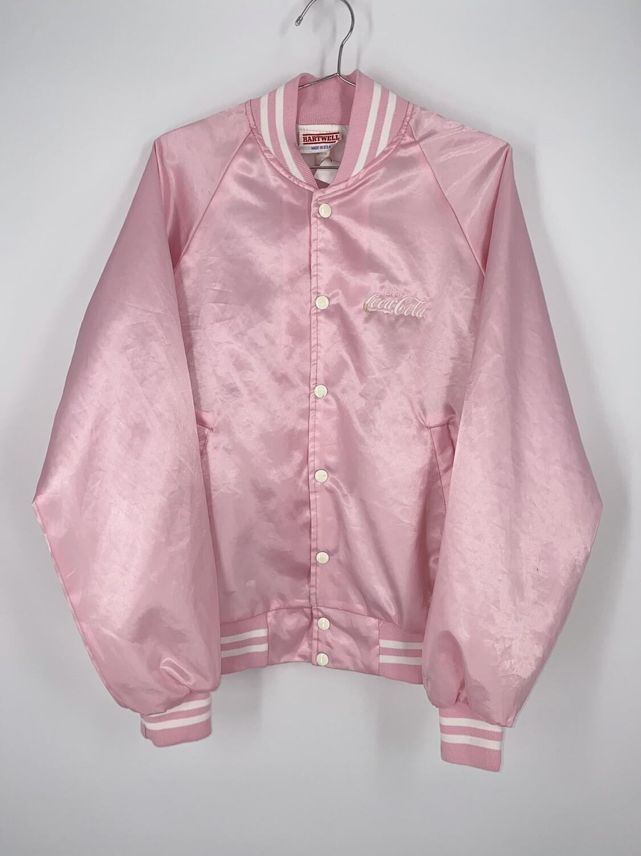 Pink Coca Cola Varsity Jacket Size S
