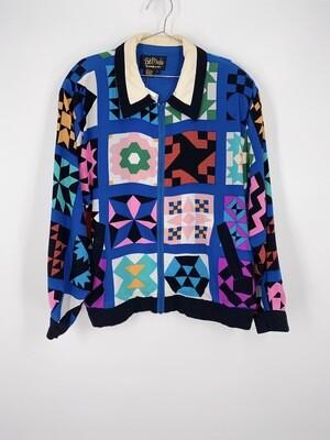 Bob Mackie Bomber Jacket Size L