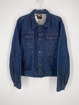 Dark Blue Wrangler Denim Jacket Size S