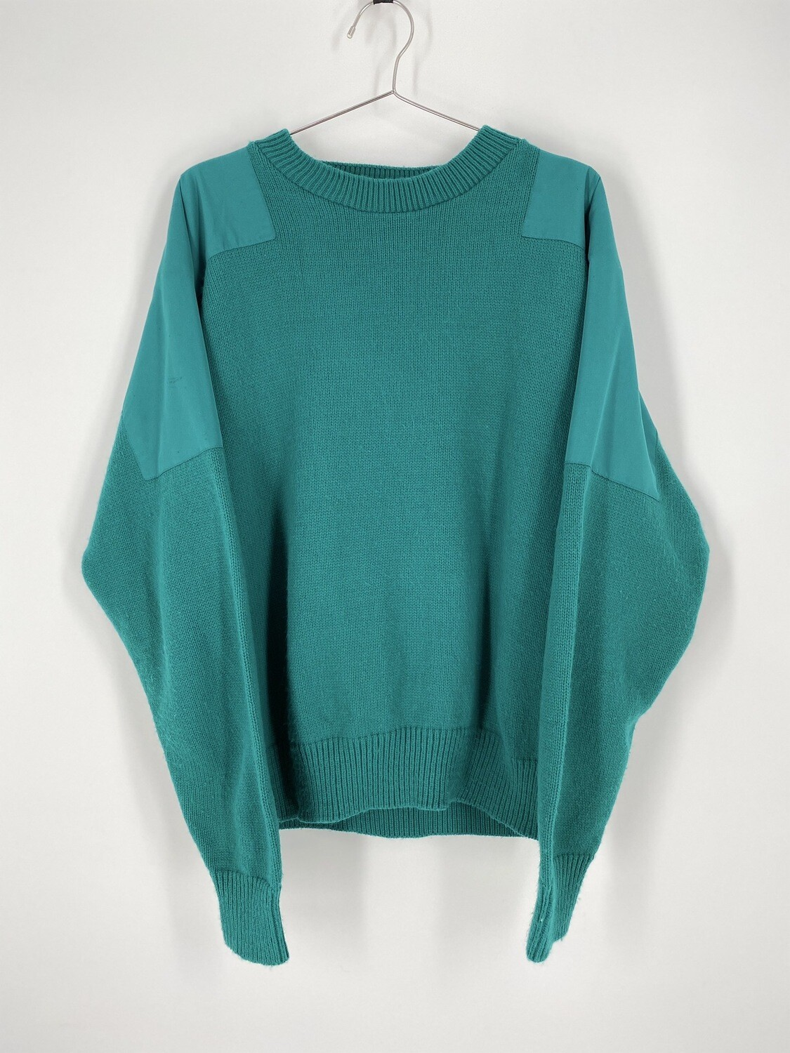 Teal Water Repellent Sweater Size M