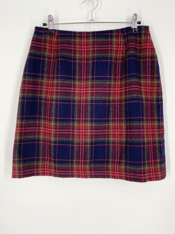 Plaid Mini Skirt Size M