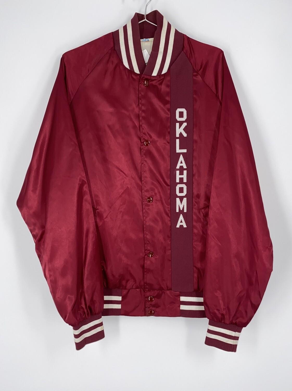 Westark USA Red Oklahoma Letterman Jacket Size L