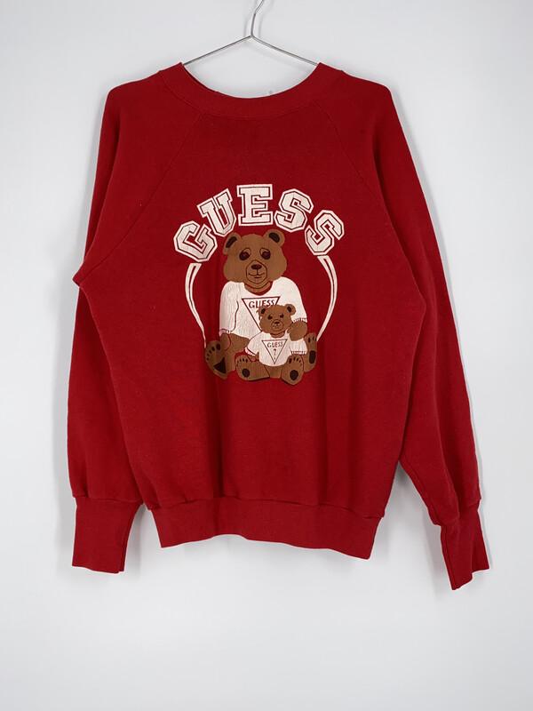 Guess Bears Crewneck Size L