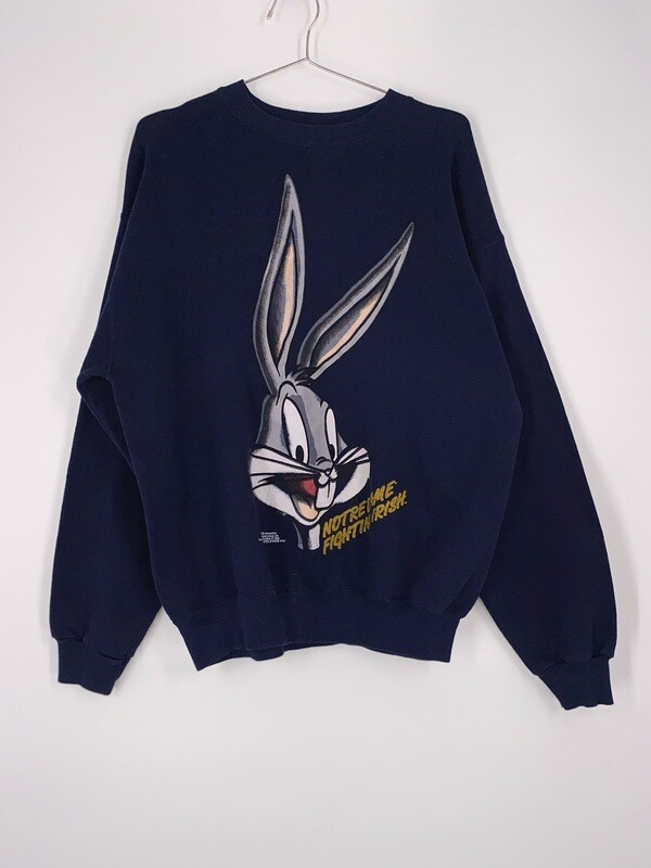 Bugs Bunny Notre Dame Crewneck Size L
