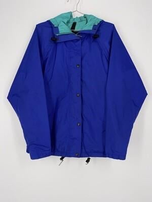 Blue North Face Windbreaker Size