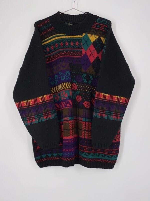Dana Scott Rose Sweater Size L