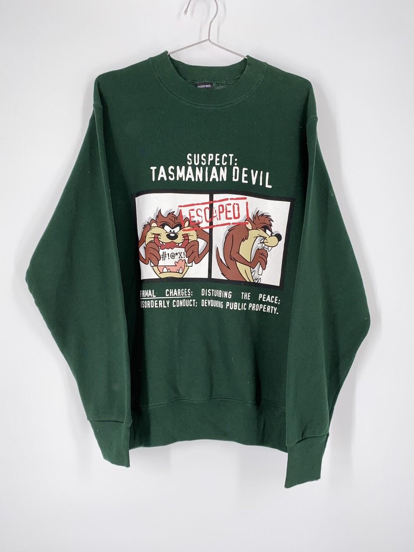 Tasmanian Devil Crewneck Size S