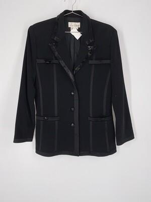 Liz Elana Beaded Blazer Size L