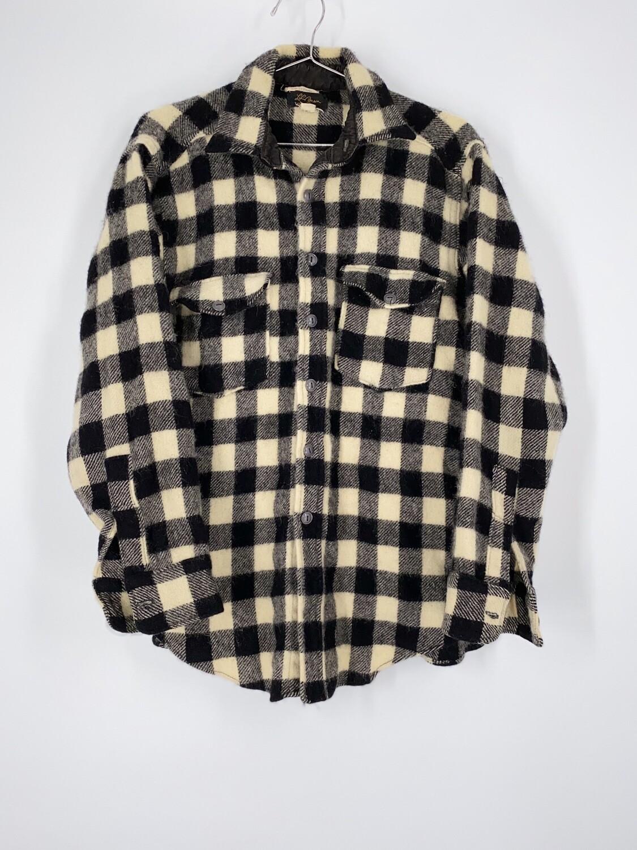 L.L. Bean Plaid Flannel Size M