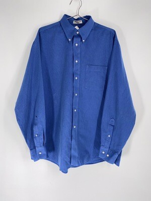 Arrow Blue Long Sleeve Button Down Size M