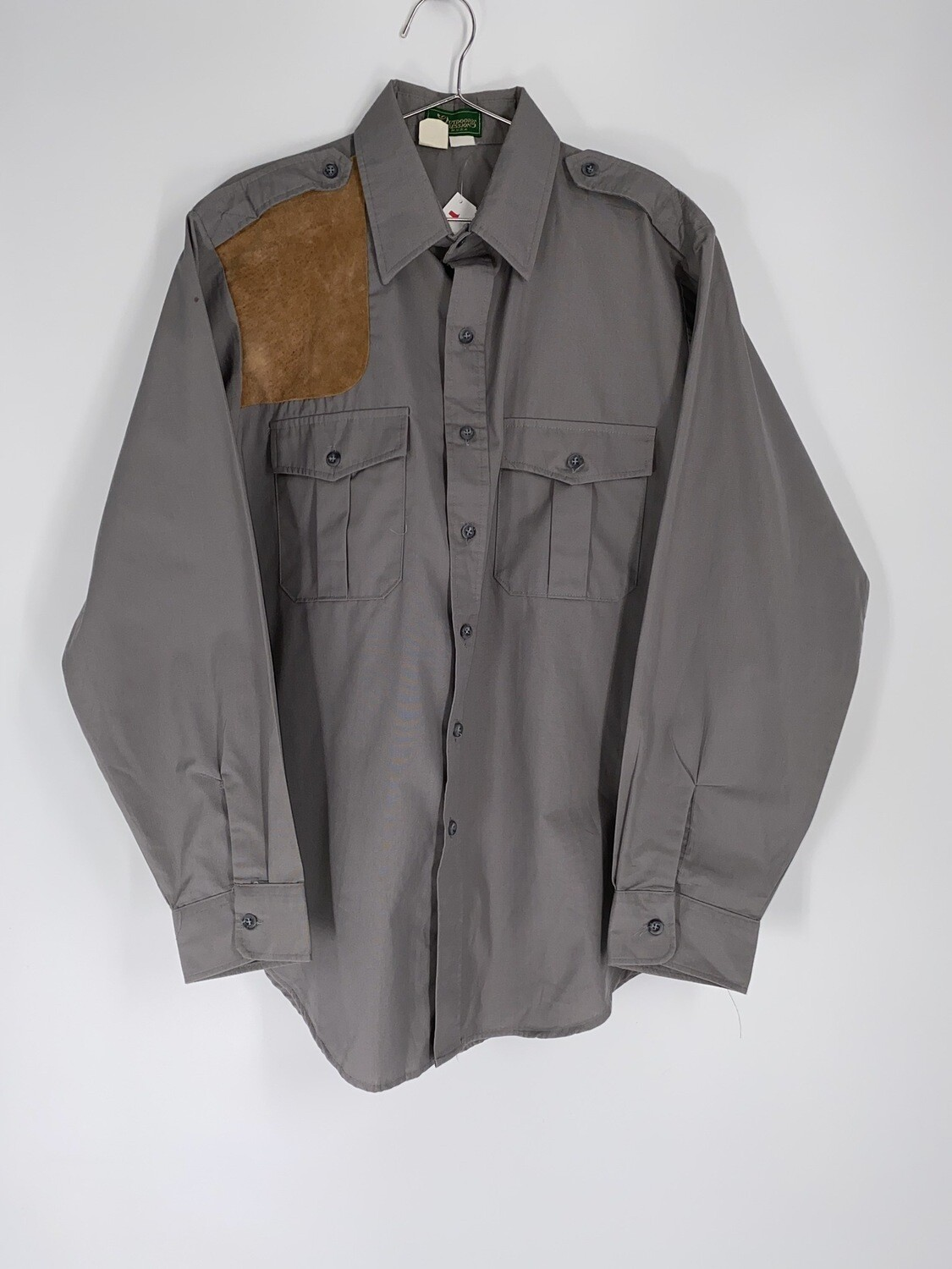 Outdoor Impressions Long Sleeve Button Up Size L