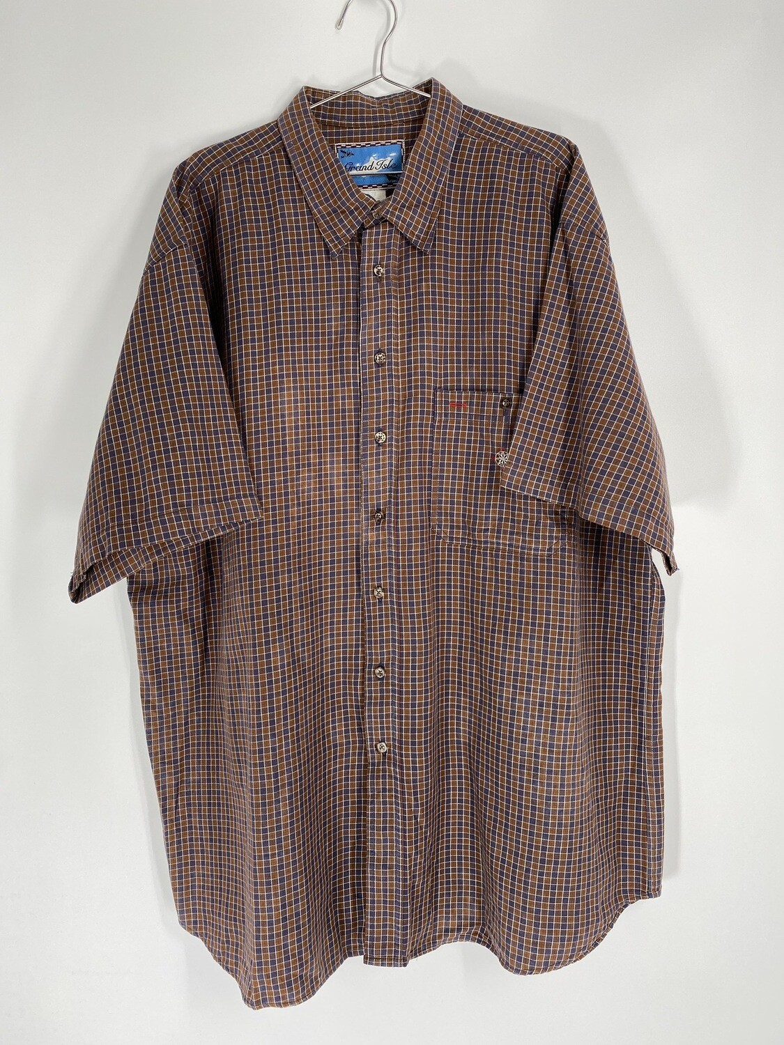 Grand Isle Plaid Button Down