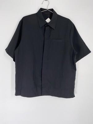 Black Button Up Size L