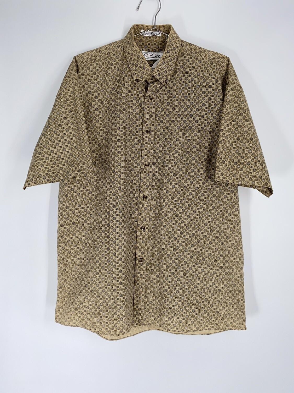 C. Latti Patterned Button Down Size M