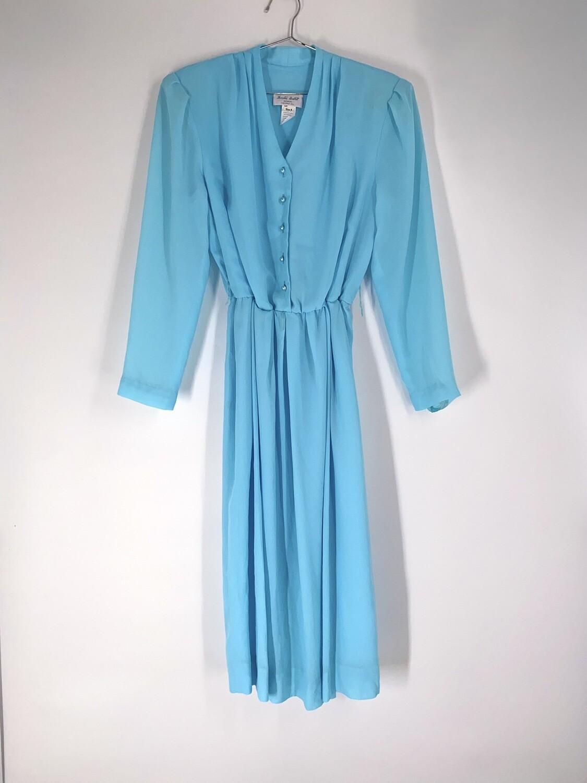 Powder Blue Sheer Dress Size M