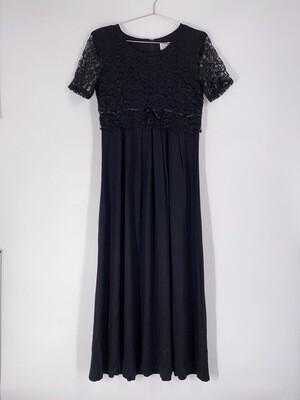 Black Lace Top Dress Size M