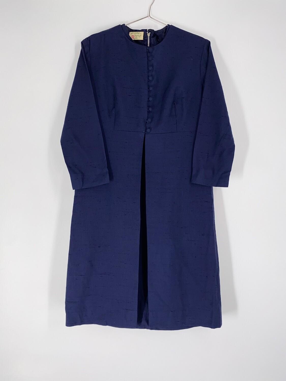 Navy Two Piece Dress Size M